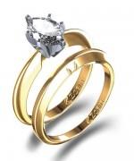 Gold Wedding Rings 2015 For Girls 003