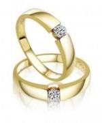Gold Wedding Rings 2015 For Girls 004