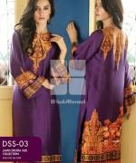 Gul Ahmed Lamis Digital Silk Dresses 2015 For Women 4