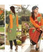 Komal Embroidered Kurtis 2015 by LSM Fabrics 4