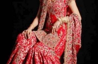 Latest Bridal Gharara Designs 2015 In Pakistan 4