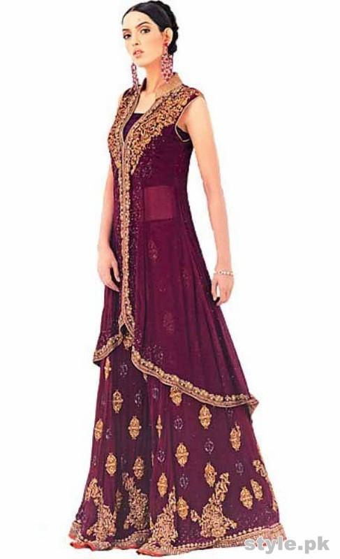 Latest Bridal Gharara Designs 2017 In Pakistan 1012