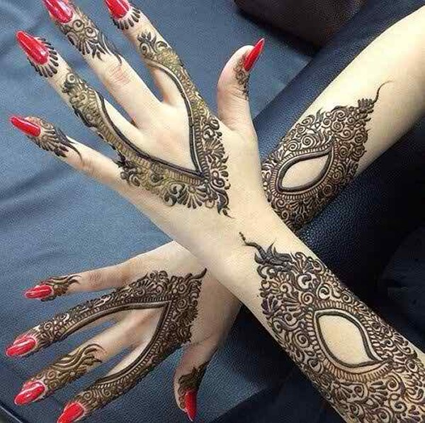 Mehndi Designs New Style : Latest mehndi designs new