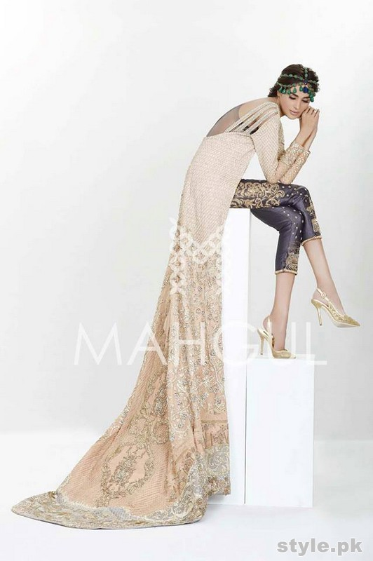 Mahgul Formal Dresses 2015 For Women 1
