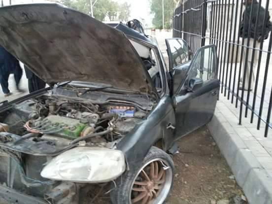 Momal Khalid car accident