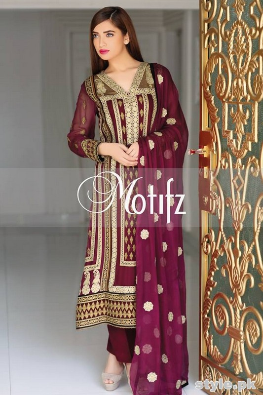 Motifz Crinkle Chiffon Collection 2015 Volume 1 5