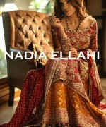 Nadia Ellahi Bridal Wear Dresses 2015 For Girls 1