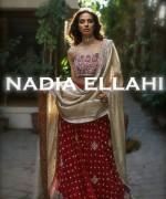 Nadia Ellahi Bridal Wear Dresses 2015 For Girls 6