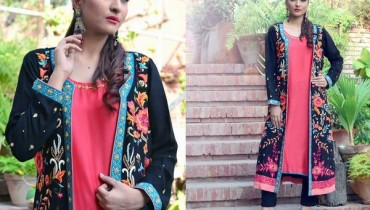 Nadia Farooqui Party Dresses 2015 For Girls 3