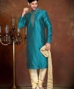 New Mehndi Dresses 2015 For Men 004
