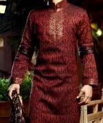 New Mehndi Dresses 2015 For Men 005