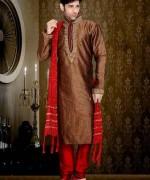 New Mehndi Dresses 2015 For Men 008
