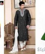 New Mehndi Dresses 2015 For Men