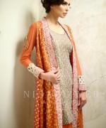 Nida Azwer Formal Wear Dresses 2015 For Girls 1