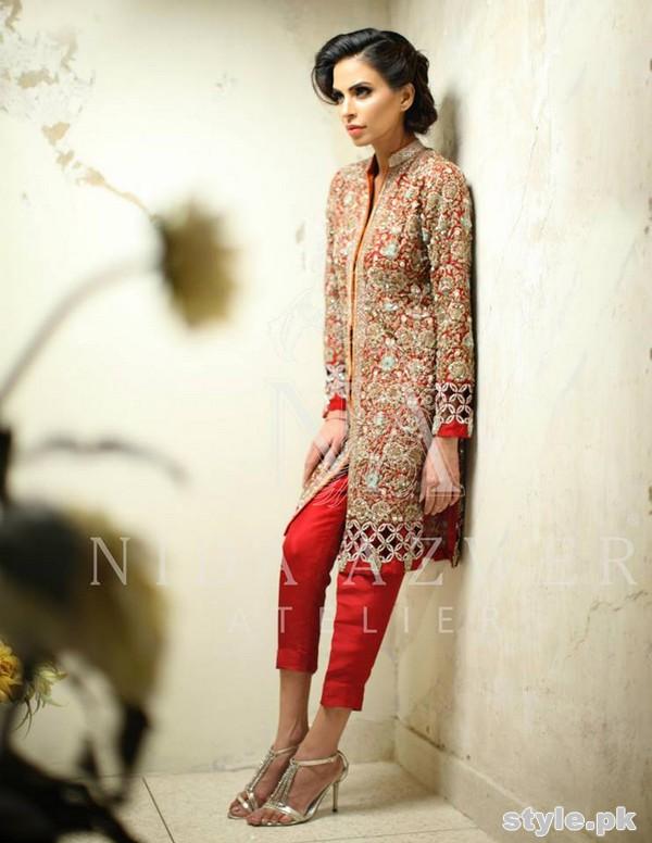 Nida Azwer Formal Wear Dresses 2015 For Girls 5