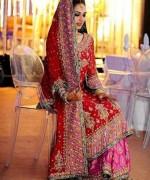 Pakistani Baraat Dresses 2015 For Girls 0012