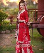 Pakistani Baraat Dresses 2015 For Girls 0016