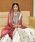 Pakistani Baraat Dresses 2015 For Girls 002