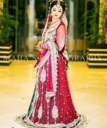 Pakistani Baraat Dresses 2015 For Girls 005