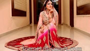 Pakistani Baraat Dresses 2015 For Girls 008