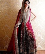 Pakistani Baraat Dresses 2015 For Girls 009