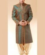 Pakistani Baraat Dresses For Boys 2015 004