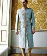 Pakistani Baraat Dresses For Boys 2015 005