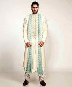 Pakistani Baraat Dresses For Boys 2015 008