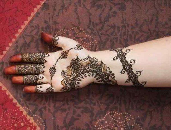 Mehndi Foot Designs 2015 : Rajasthani mehndi designs