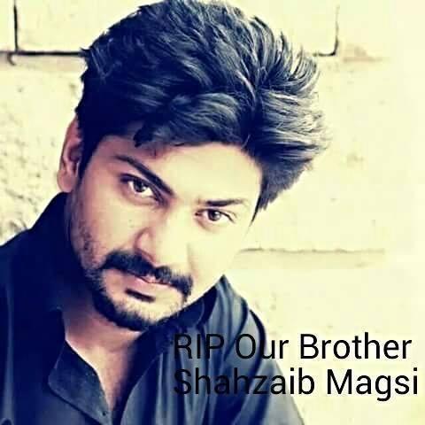 Shahzaib magsi died