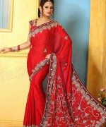 Trends Of Indian Sarees 2015 For Women 0018