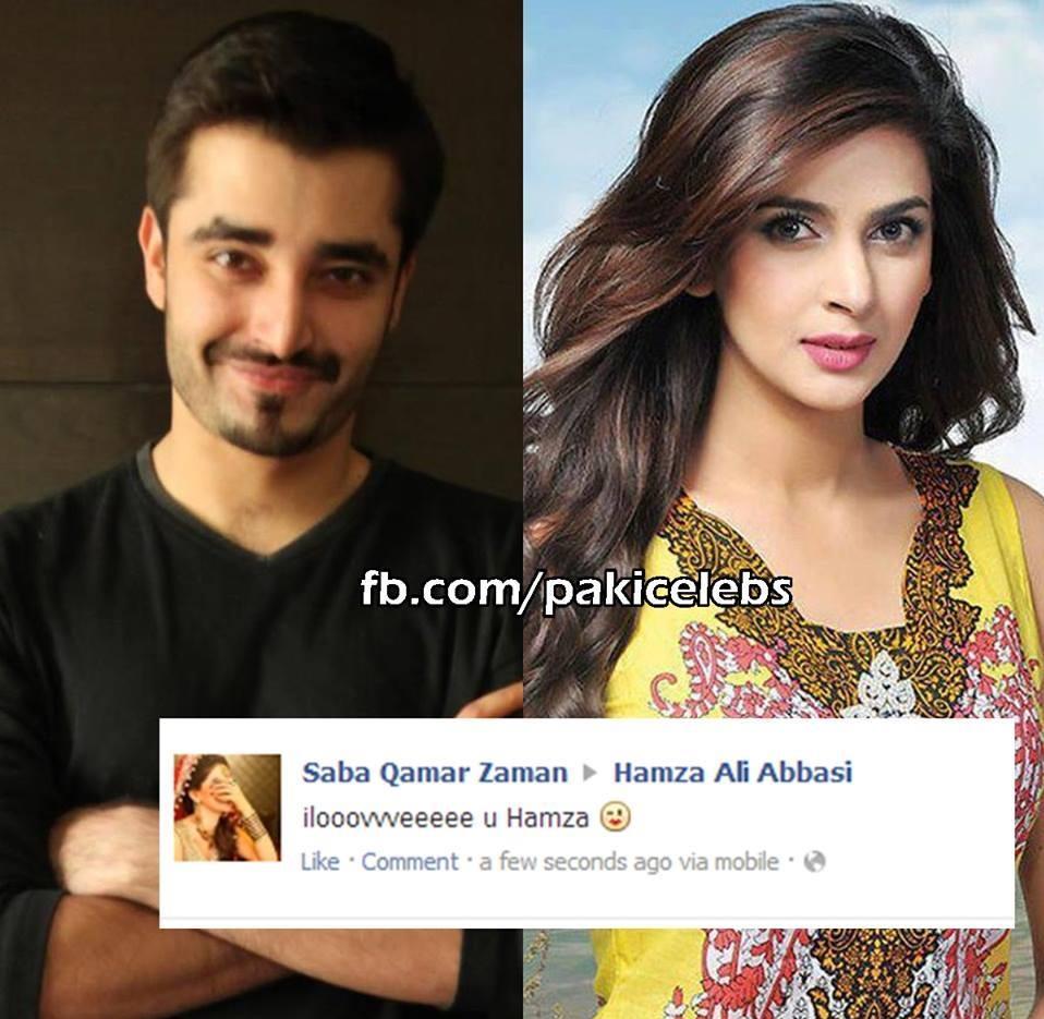 Saba Qamar and agha ali
