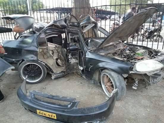 pakistani actress Momal Khalid car accident