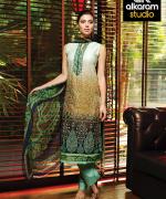 Al-Karam Spring Summer Dresses 2015 For Women 2