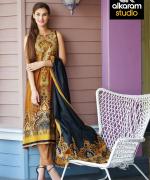 Al-Karam Spring Summer Dresses 2015 For Women 4