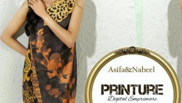 Asifa and Nabeel Summer Dresses 2015 For Girls 1