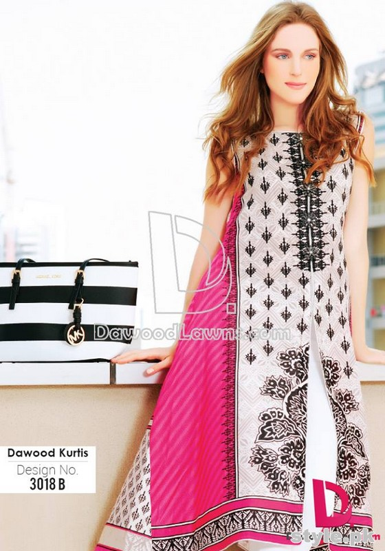 Dawood Lawn Dresses 2015 For Summer 9