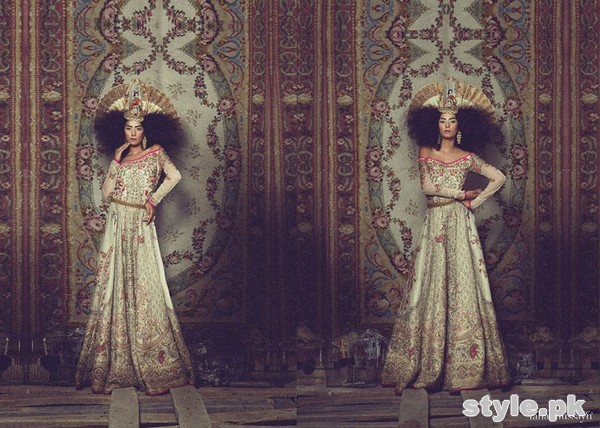Fahad Hussayn Royal Wreck Collection 2015 For Girls 1