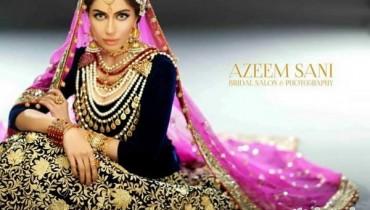 Faiza Saqlain Bridal Wear Dresses 2015 For Girls 2