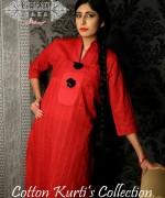 Ghani Kaka Cambric Kurti Collection 2015 For Spring 3