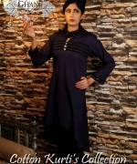 Ghani Kaka Cambric Kurti Collection 2015 For Spring 6