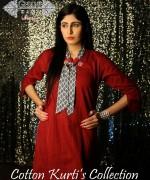Ghani Kaka Cambric Kurti Collection 2015 For Spring 7