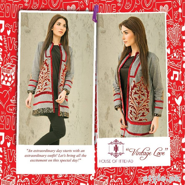 House Of Ittehad Valentine's Day Collection 2015 For Girls 6