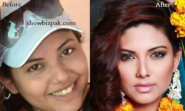 How Pakistani Female Models Look Without Makeup002