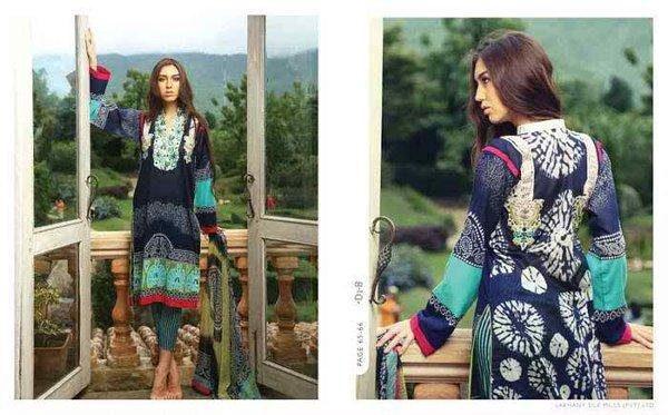 LSM Fabrics Komal Lawn Dresses 2015 For Women 001