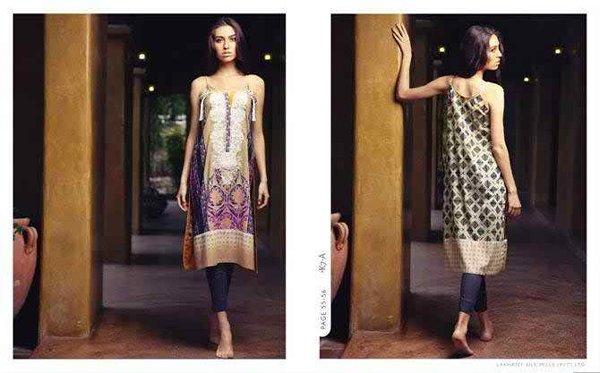 LSM Fabrics Komal Lawn Dresses 2015 For Women 003