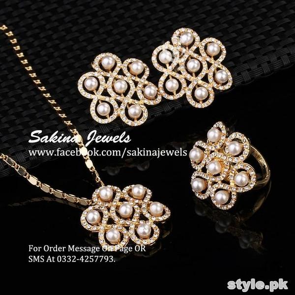 Latest Jewellery Collection 2015 by Sakina Jewelery 10