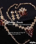 Latest Jewellery Collection 2015 by Sakina Jewelery 2
