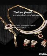 Latest Jewellery Collection 2015 by Sakina Jewelery 4