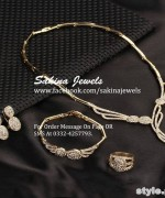 Latest Jewellery Collection 2015 by Sakina Jewelery 5